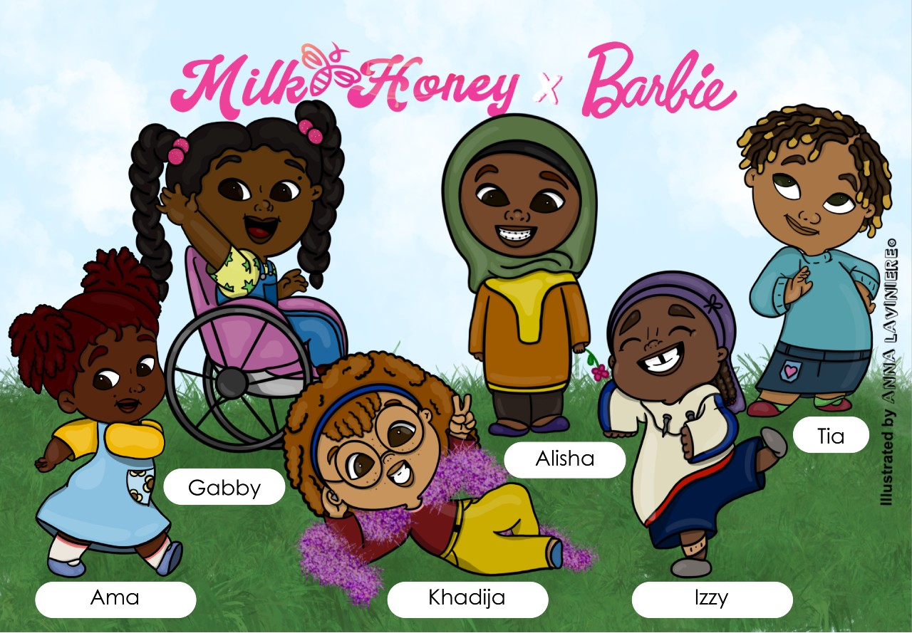 milkhoneybees x barbie